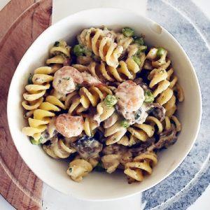 Shrimp and Mushroom Rotini