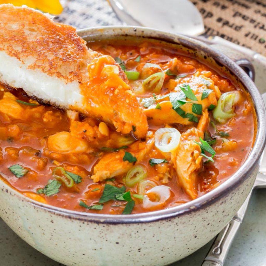 Chicken & Red Lentil Bowl