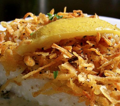 Fish 1-Dish Fish 'n Spud Bake